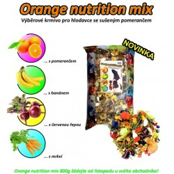 Apetit Orange nutrition mix pro hlodavce (800 g)